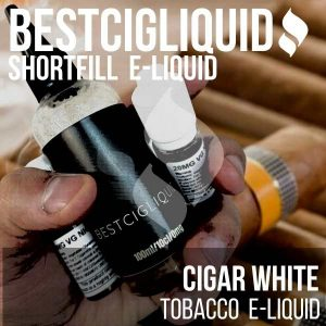 Cubano White Tobacco E-liquid (Cigar, Cream, Sweet)