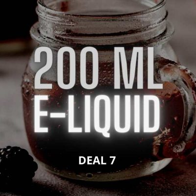Deal 7 - Sultan Turkish - Vimpto E-liquid 2 x 100 ml