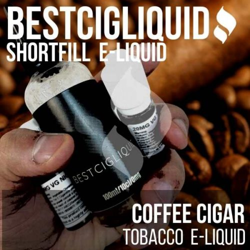 Coffee Cuban Cigar E-liquid (Coffee, Cigar, Tobacco)