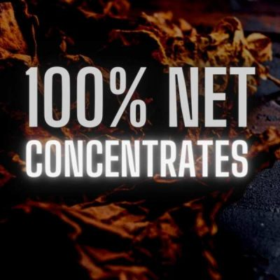 100% Naturally Extracted Tobacco Concentrates