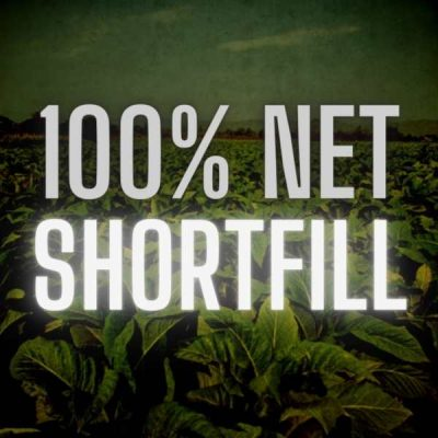 100% Naturally Extracted Tobacco Shorfill (With Nicotine Shots)