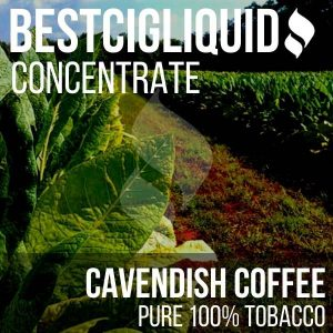 Cavendish Coffee 100% Natural Extracted Tobacco Concentrate