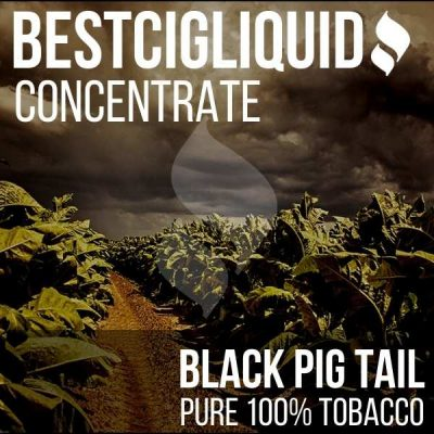 JUST ADDED! Black Pig Tail 100% Natural Extracted Tobacco Concentrate