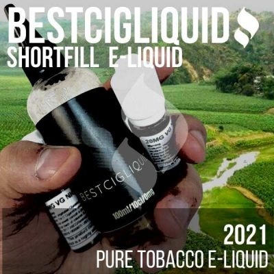 2021 Natural Extracted Tobacco E-liquid (Burley, Bright Cavendish, Virginia)