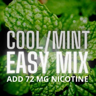 Cool & Menthol Easy Mix (Just add 72 MG Nicotine)