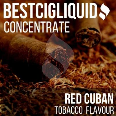 JUST ADDED! RED Cuban Tobacco Concentrate (USA, Cuban)