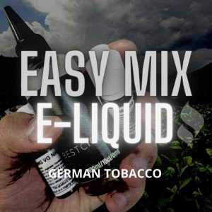 German Tobacco E-liquid (Cavendish, Perique, Fruit)