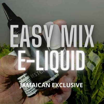 Jamaican Exclusive E liquid 100% Naturally Extracted Tobacco 50 ml & 100ml