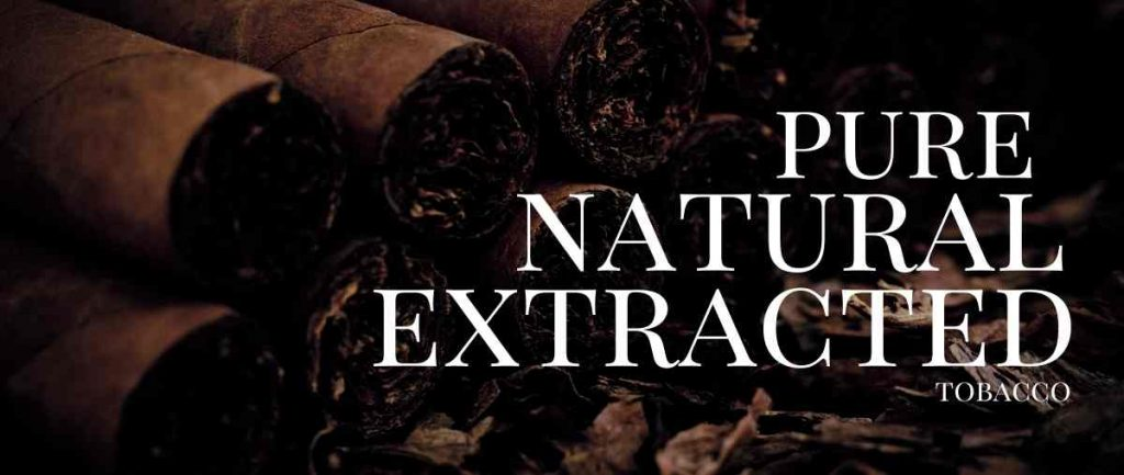 Naturally extracted Tobacco